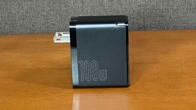 【折りたたみ式プラグ】baseus-PD充電器